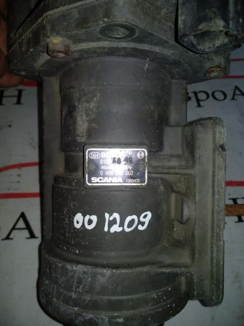 Кран тормозной Главный тормозной кран Scania 4 - series 0486200008