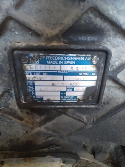 Коробка передач (КПП/МКПП) 5-ступенчатая Mercedes Atego S5-42