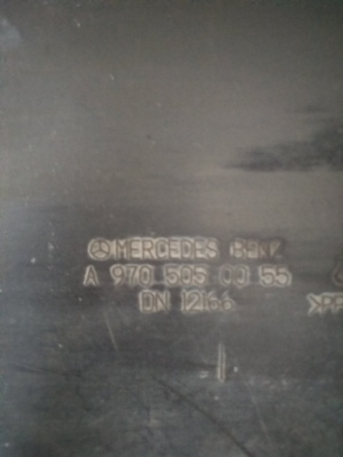 Диффузор Mercedes Atego, Atego 2 a9705050055