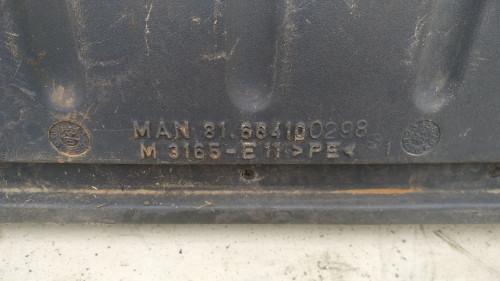 Крыло колес заднего/ведущего моста MAN TGA E4 81664100298