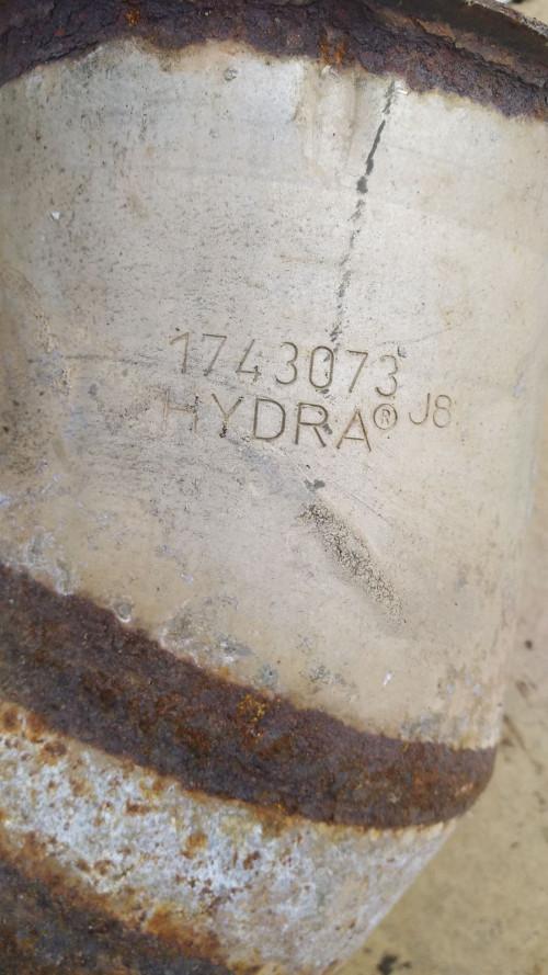 Гофра глушителя DAF CF 85 1743073