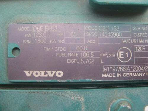 Двигатель (ДВС) Volvo D6E EFE3 V-ACT Volvo Экскаватор