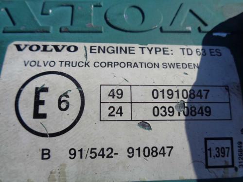 Двигатель (ДВС) VOLVO TD63ES Volvo Прочие