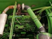 Двигатель (ДВС) JOHN DEERE 6076HZ031 John Deere Трактор