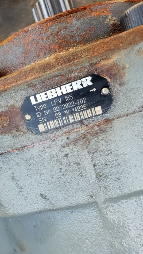 Трансмиссия Гидронасос LIEBHERR LPV 165 Liebherr Экскаватор 9072922-202, 081914936