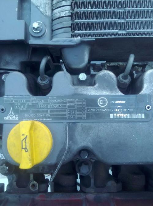 Двигатель (ДВС) DEUTZ F4L2011 Deutz-Fahr Трактор 00926342