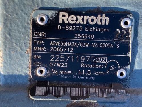 Трансмиссия Новый гидромотор Rexroth A6VE55 JCB Погрузчик, Погрузчик a6ve55ha2x / 22571197