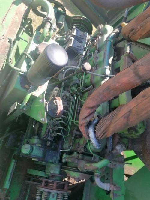 Двигатель (ДВС) JOHN DEERE 6468 John Deere Комбайн