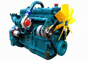 Двигатель (ДВС) ANDORIA 6CT107, 6CT107-2 (SW400 Turbo) BIZON Комбайн