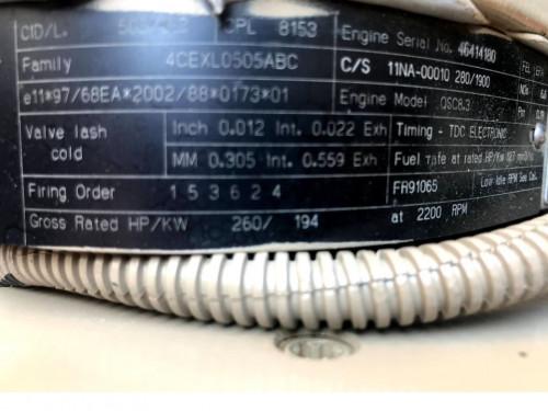 Двигатель (ДВС) CUMMINS QSC8.3 New Holland Бульдозер 46414180 / 4CEXL0505ABC